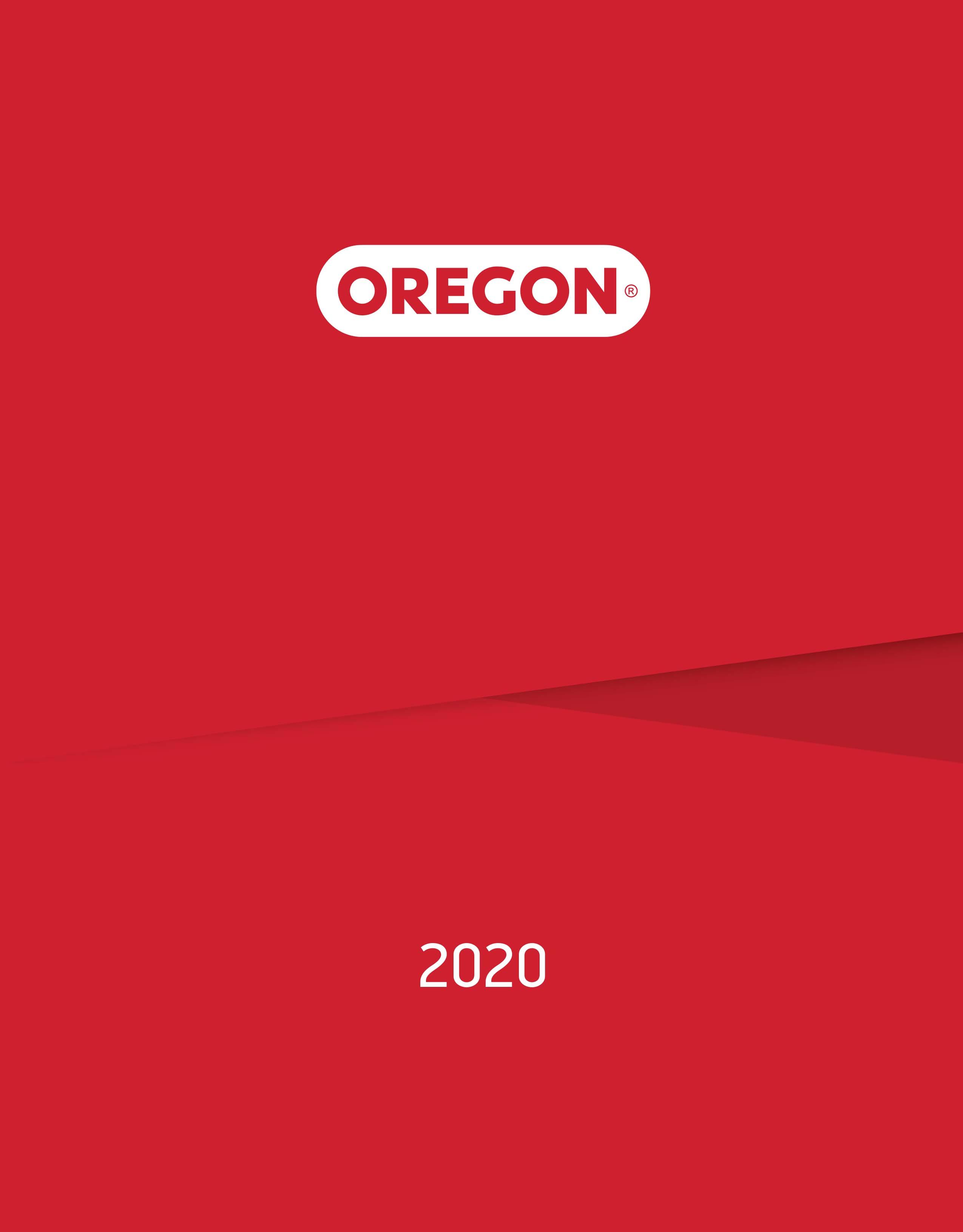 Каталог Oregon 2020
